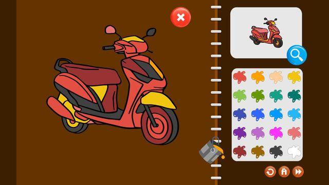 My Coloring Book: Transport screenshot