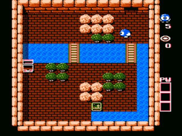 Adventures of Lolo (1989) screenshot
