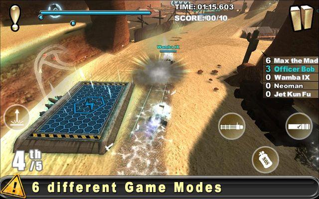 Cracking Sands screenshot