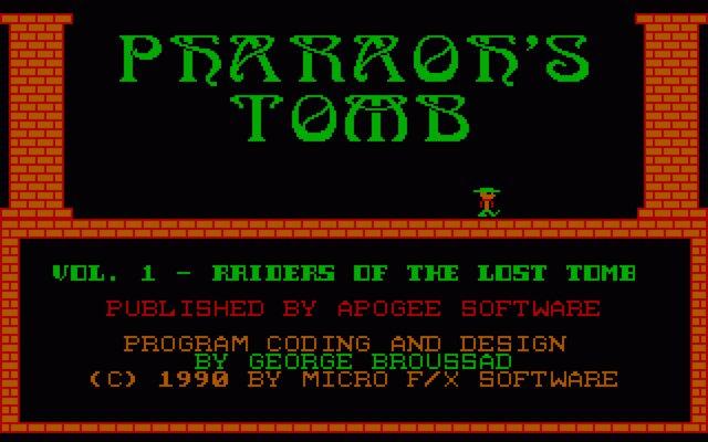 Pharaoh's Tomb screenshot
