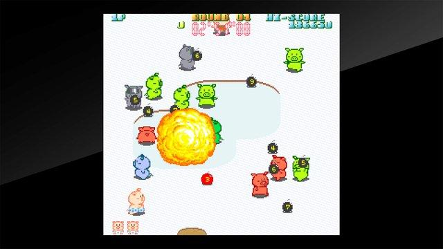 Arcade Archives Buta san screenshot