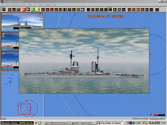 Naval Campaigns 1: Jutland screenshot