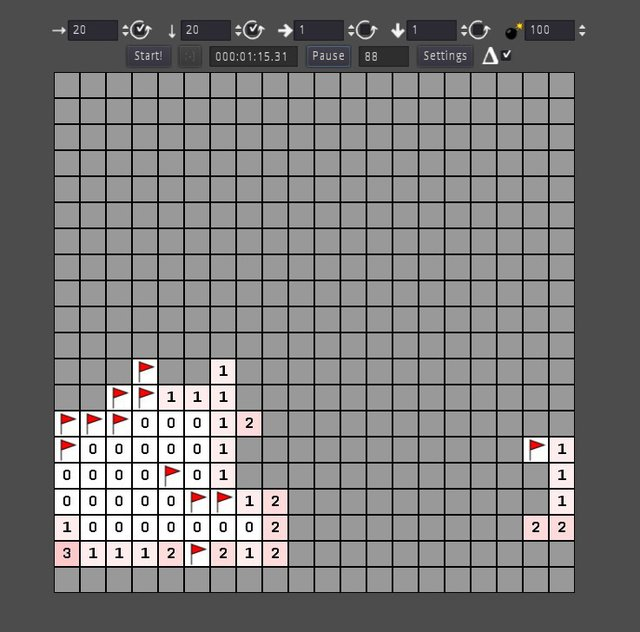 4D Minesweeper screenshot