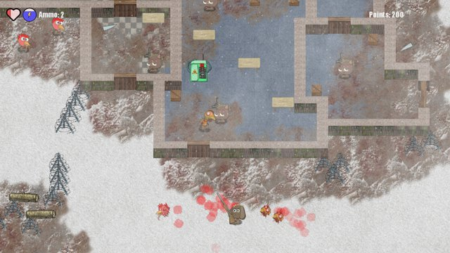 Armored Animals: H1N1z screenshot