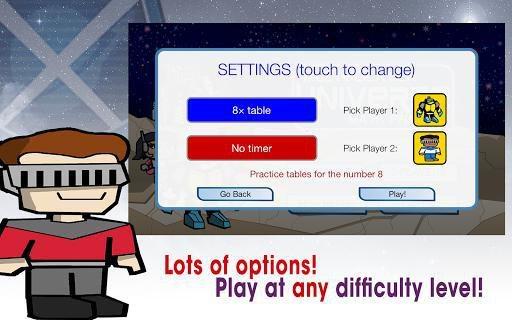 Multiplication Kids Board Game screenshot