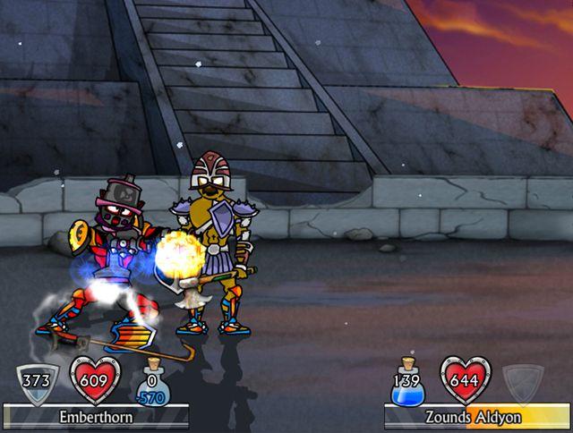 Swords and Sandals 5 Redux screenshot