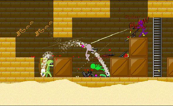 Boring Man - Online Tactical Stickman Combat screenshot
