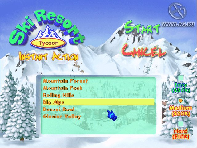 Ski Resort Tycoon screenshot