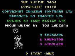 Rastan (1987) screenshot