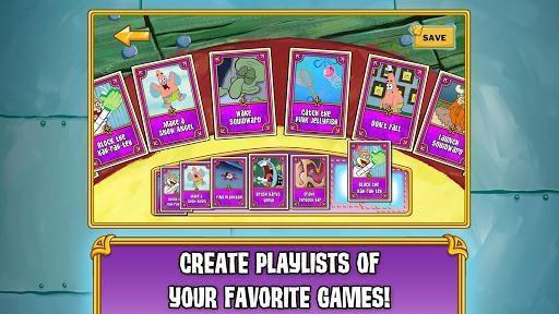 Губка Боб: игровое безумие screenshot