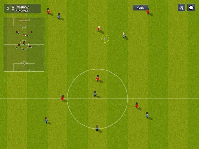 World of Soccer online screenshot