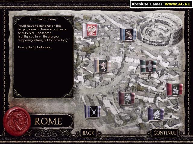 The Gladiators of Rome screenshot