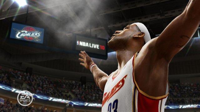 NBA LIVE 10 screenshot