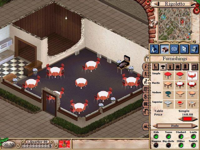 Pizza Tycoon 2 screenshot