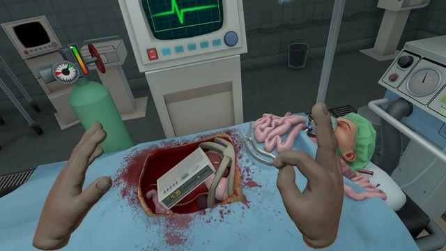 Surgeon Simulator: Experience Reality screenshot