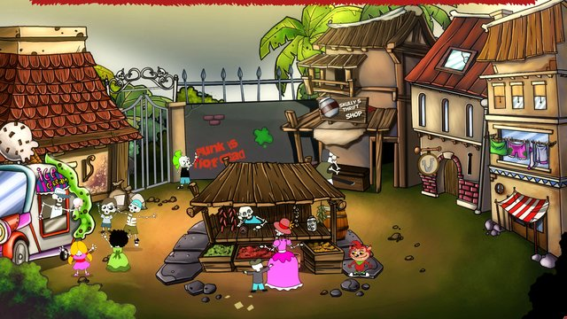 The Secret Monster Society screenshot