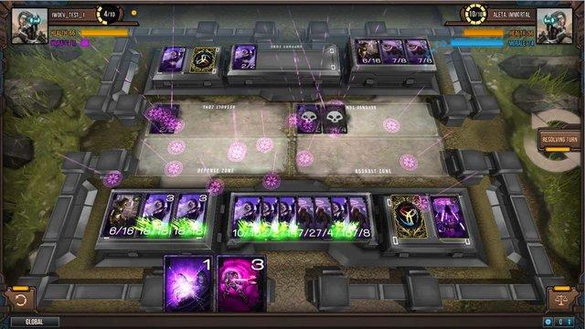 Infinity Wars: Animated Trading Card Game screenshot
