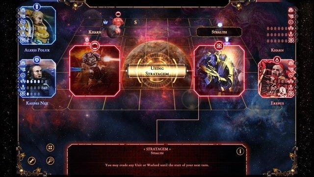 Warhammer 40,000: Talisman - The Horus Heresy screenshot