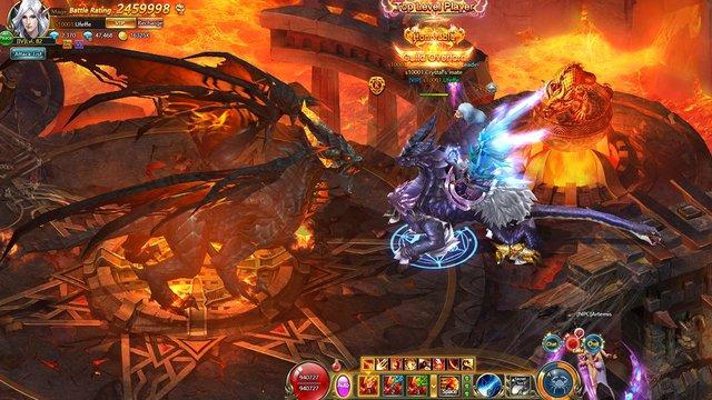 Sacred Saga Online screenshot