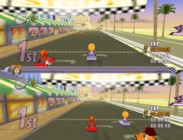 Action Girlz Racing screenshot