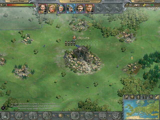 Knights of Honor screenshot