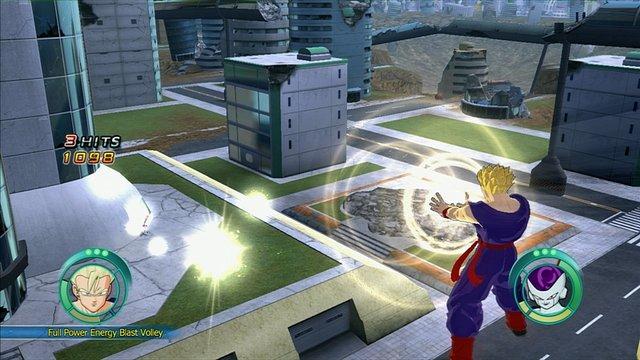 Dragon Ball: Raging Blast screenshot