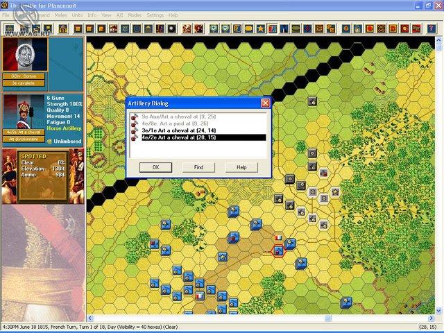 Napoleonic Battles: Campaign Waterloo screenshot