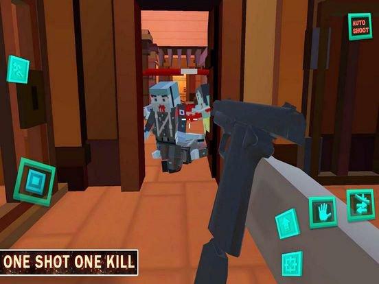 Against Blocky Zombie Hordes screenshot