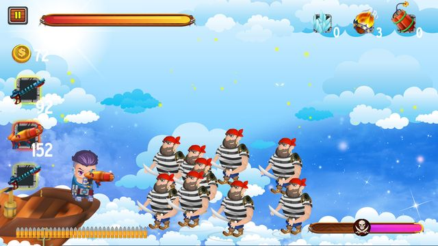 Captain vs Sky Pirates screenshot