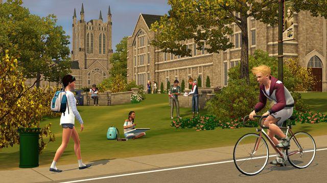 The Sims 3: Студенческая жизнь screenshot