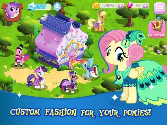 MY LITTLE PONY: Магия Принцесс (Gameloft) screenshot