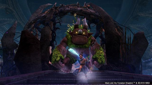 Majin and the Forsaken Kingdom screenshot