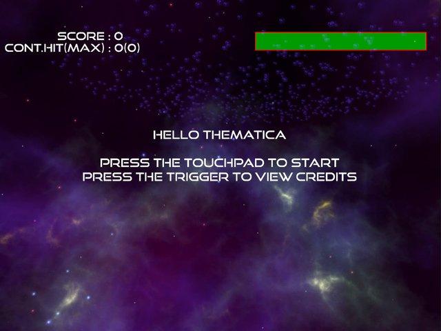 Meteor Crush VR screenshot