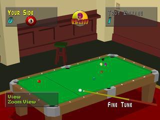 Virtual Pool (1997) screenshot