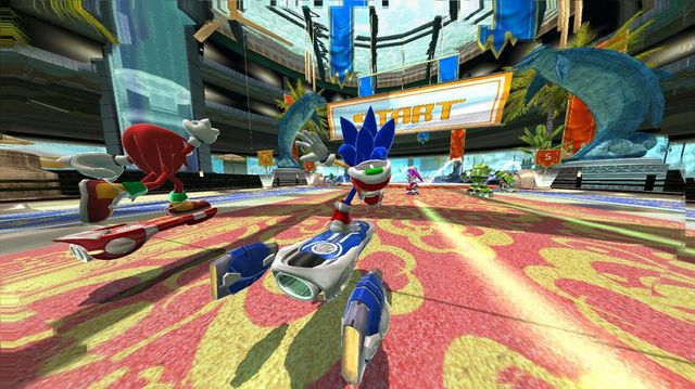 SONIC FREE RIDERS screenshot