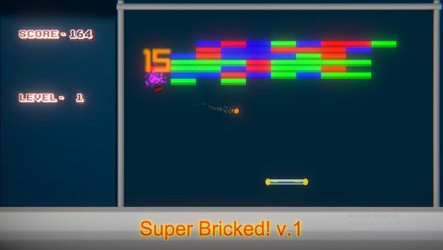 Super Bricked! screenshot