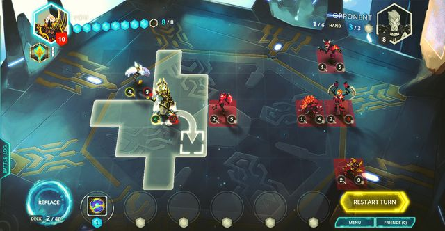 Duelyst screenshot