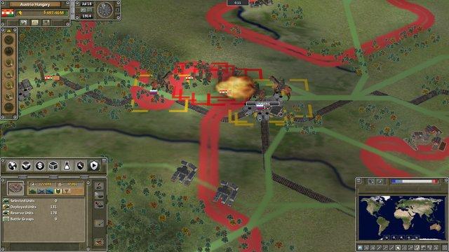 Supreme Ruler The Great War screenshot