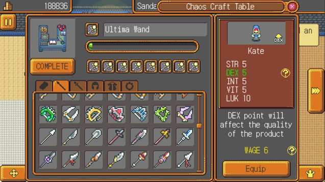 Weapon Shop Fantasy screenshot