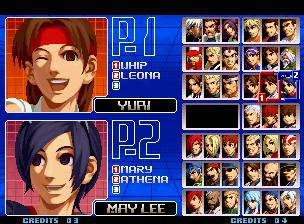 THE KING OF FIGHTERS 2002 screenshot