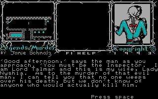 Legends of Murder screenshot