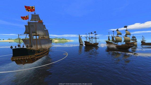 Огнем и мечом 2. На Карибы! screenshot