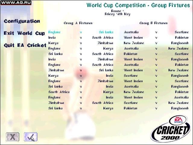 Cricket 2000 screenshot