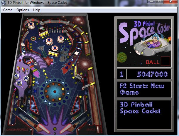 3D Pinball: Space Cadet screenshot