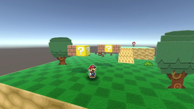 Paper Mario (Prototype) screenshot