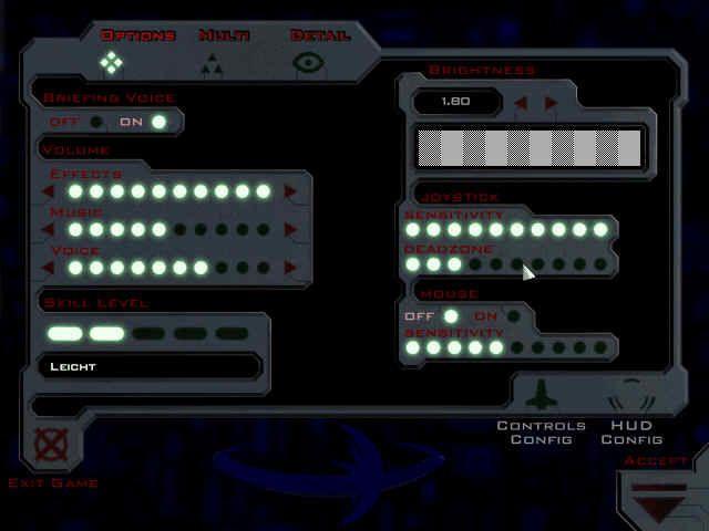 Descent: FreeSpace – The Great War (1998) screenshot