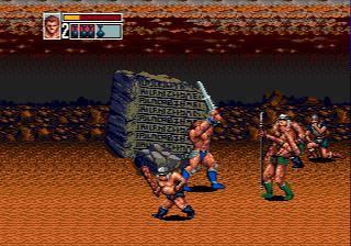 Golden Axe III (1993) screenshot