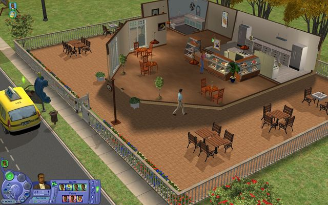Sims 2: Бизнес, The screenshot