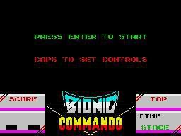 Bionic Commando (1987) screenshot