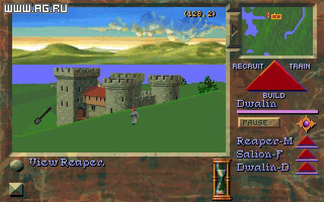 Stronghold (1993) screenshot